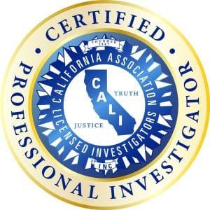 CALI Certified Professional Investigator