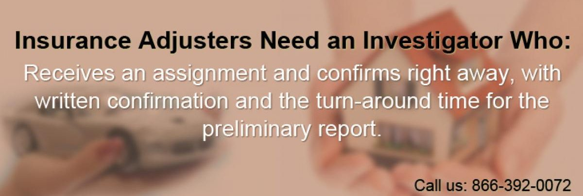 SF Bay Area private investigator services for insurance adjusters