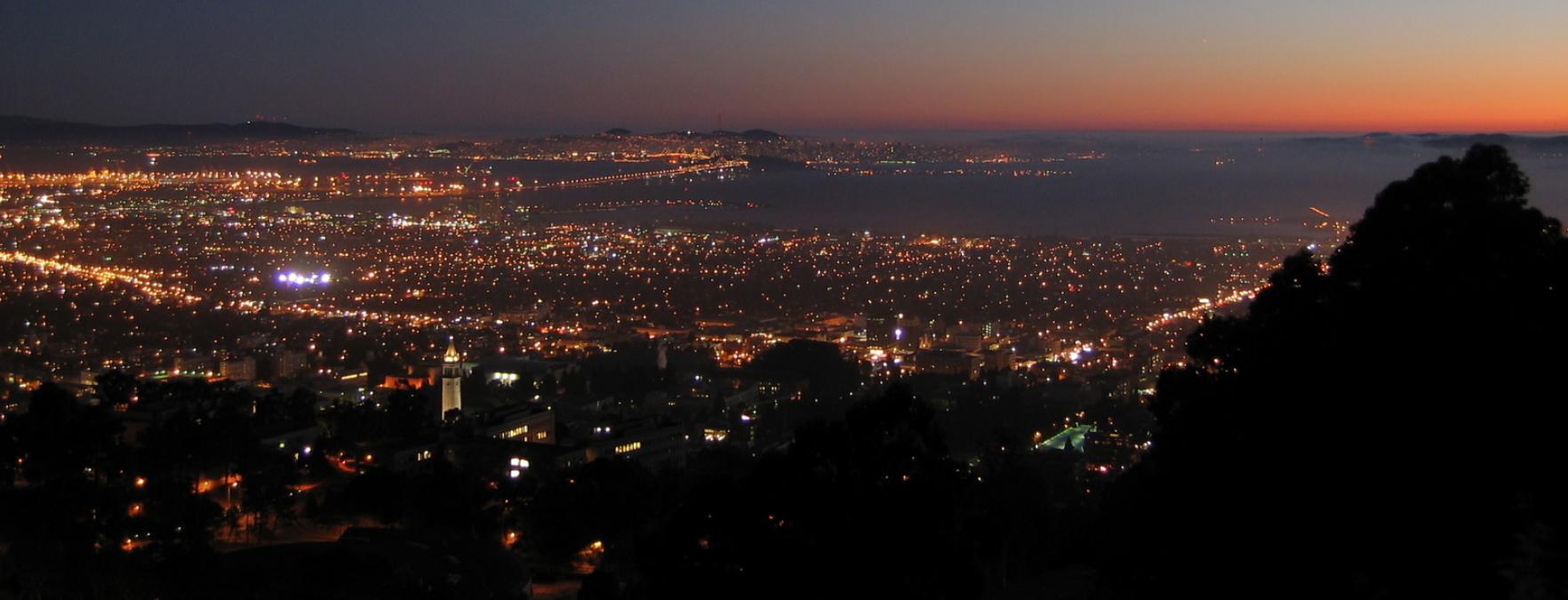 Alameda at Night