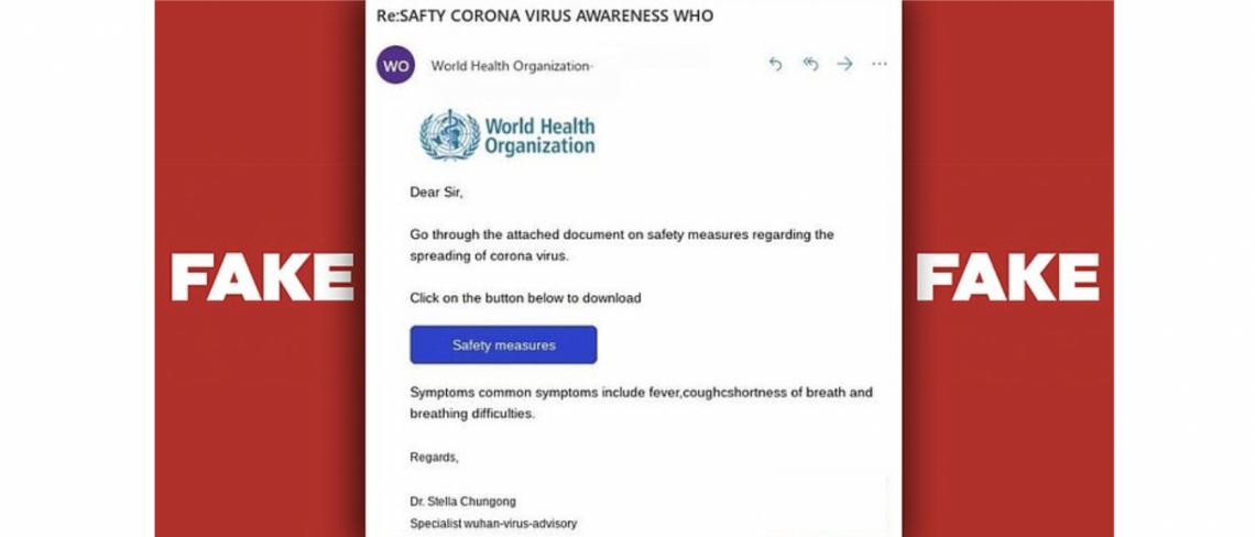 Coronavirus Charity Scam